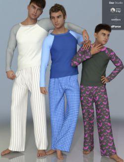 dForce PJs for Genesis 8 Male(s)