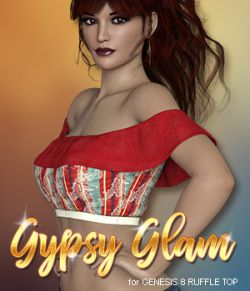Gypsy Glam for Ruffle Top