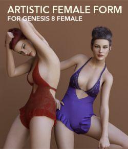 Artistic Female Form for Genesis 8 Female