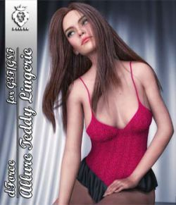 JMR dForce Allure Teddy Lingerie for G3F and G8F