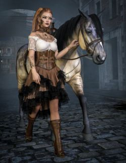 dForce Vernea Fae Outfit for Genesis 8 Female(s)