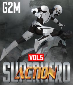 SuperHero Action for G2M Volume 5