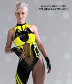 X-Fashion 1Leg Outfit for Genesis 8 Females