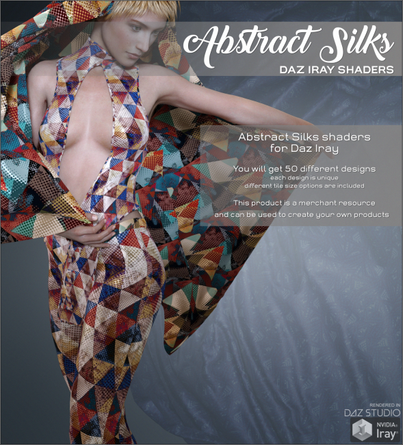 Daz Iray - Abstract Silks