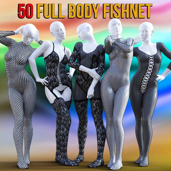 50 Full Body Fishnet for G8F