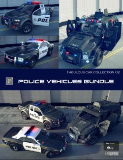 Police Vehicles Bundle