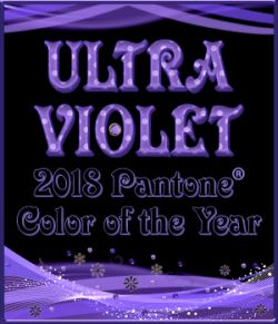2018 Pantone Color of the Year ULTRA VIOLET PS Layer Styles