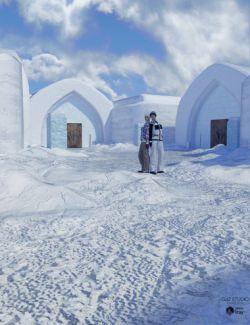 Ice Hotel Exterior