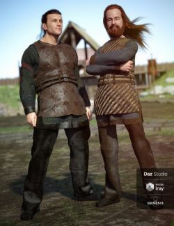 Lief Viking Outfit Textures