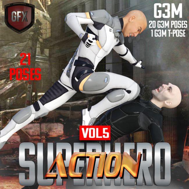 SuperHero Action for G3M Volume 5