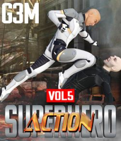 SuperHero Action for G3M Volume 5