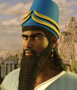 Assyrian Headdress for Genesis 8 Males