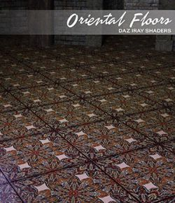 Daz Iray - Oriental Floors