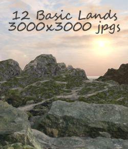 Basic Lands Backgrounds