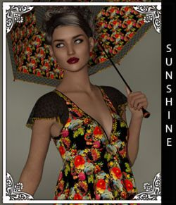 Sunshine for Handkerchief Dress