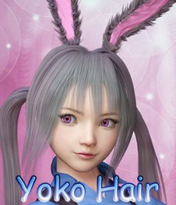Fantasy Anime Haircut 4 _Yoko Hair_ for G3F G8F