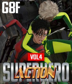 SuperHero Action for G8F Volume 4
