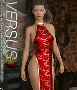 VERSUS- dForce Sexy Loin Dress for Genesis 8 Females
