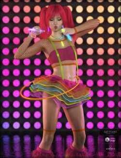 Party Monster Outfit for Genesis 8 Female(s)