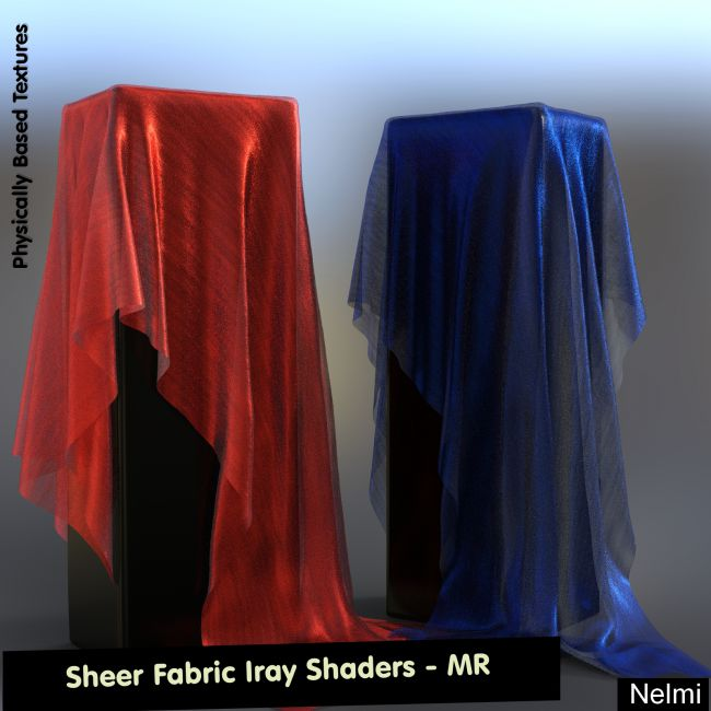 Sheer fabric Iray Shaders - Merchant Resource
