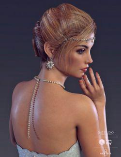 White Wedding Add-On for Genesis 8 Female(s)
