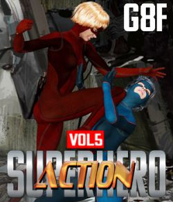 SuperHero Action for G8F Volume 5