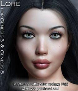 Lore for Genesis 3 and Genesis 8 Females