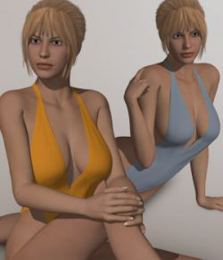 One Piece Bikini I for V4A4G4S4Elite and Poser