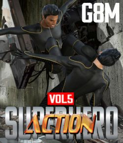 SuperHero Action for G8M Volume 5