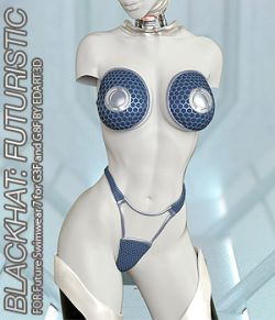 BLACKHAT:FUTURISTIC- Future Swimwear 7 for G3F and G8F