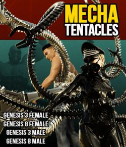 Mecha Tentacles for G3F G8F G3M G8M