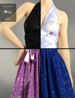 dForce Iconic Dress Textures Add-On