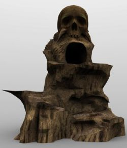 Skull Rock Mountain for Vue