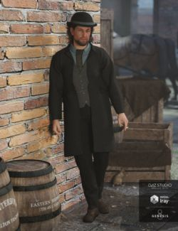 Mid Victorian Outfit for Genesis 8 Male(s)