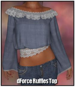 dForce- Ruffles Top for G8F