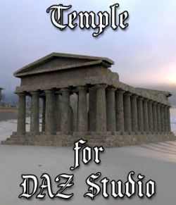 Temple for DAZ Studio