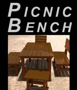 Picnic bench - Extended License