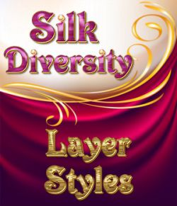 Silk Diversity PS Layer Styles