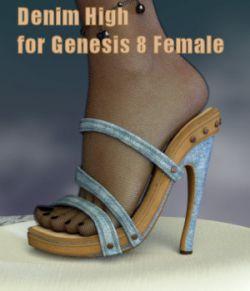 Denim High for Genesis 8 Female