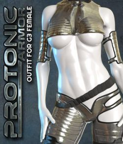 Exnem Protonic Armor for Genesis 3 Female