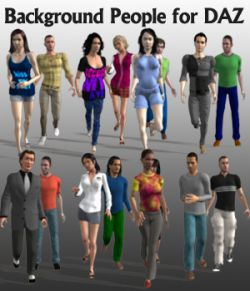 Background People for DAZ