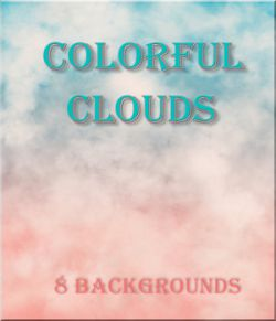 Colorful Clouds Backgrounds