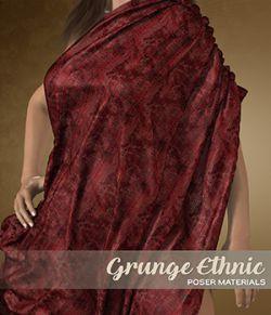Poser- Ethnic Silks