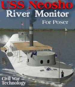 USS Neosho River Monitor