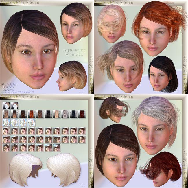 Quariz Hair 1 2 3 4