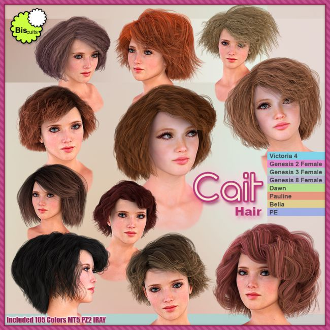 Biscuits Cait Hair