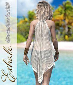 Exhale dForce dress for Genesis 8 Females