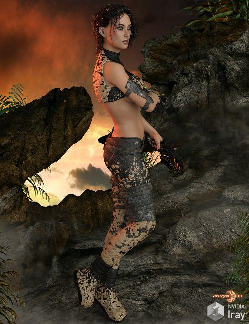 BLACKHAT - Exnem Protonic Armor for Genesis 3 Female