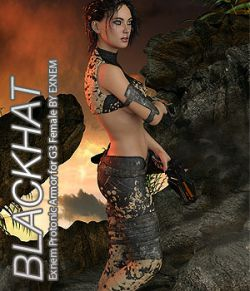 BLACKHAT- Exnem Protonic Armor for Genesis 3 Female