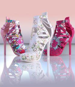 Charm Amy High Heels